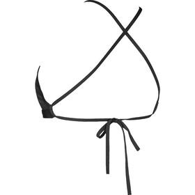 arena Solid Tie Back Bikini Kobiety czarny